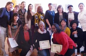 Graduates of Foodlab Detroit's Business Bootcamp, photo by Mira Luna